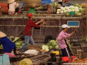 le marché de Cai Rang