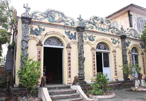 Bac Lieu - Maison de Cao Trieu