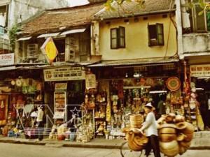 La rue Hang Quat