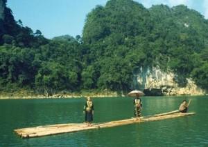 Le lac Thang Hen dans le district de Trà Linh, à 25km de la ville de Cao Bang
