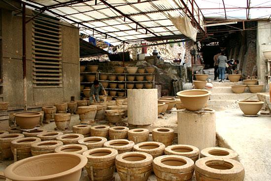 Le village de poterie de Dong Trieu