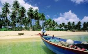 la plage de Mui Nai