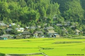 Village Kin Noi, province de Mu Cang Chai