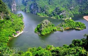 Le site d'Éco-tourisme de Tràng An
