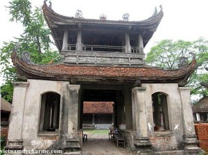 Pagode Dau - la pagode la plus ancienne pagode du Vietnam