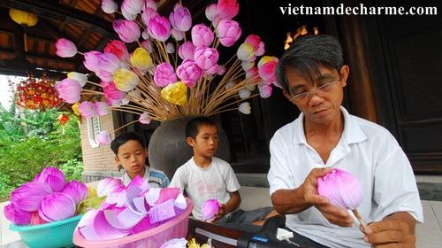Le village de Thanh Tien