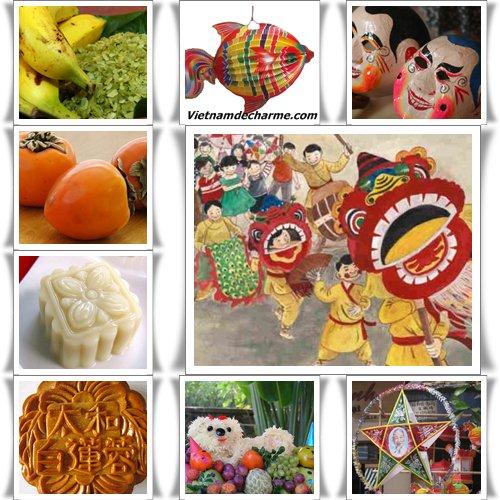 La fete de la mi-automne traditionelle des Vietnamiens