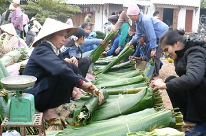 le marche rural vietnamien