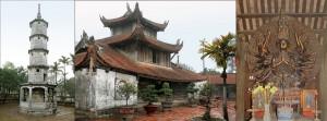 la pagode But Thap - province de Bac Ninh