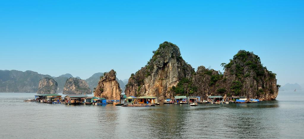 Village flottant de Cua Van