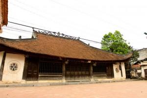 La maison communale de Diêm