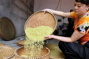 Le Côm - une spécialité culinaire des Hanoiens.
