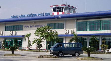 L'aéroport de Phu Bai, province de Thua Thien Hue