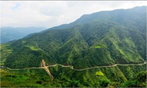 le col de Khau Pha reliant Mu Cang Chai et Van Chân, province de Yen Bai